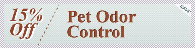 Cleaning Coupons | 15% off pet odor control | Rug Cleaning Manhattan