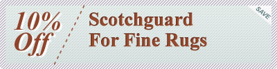 Cleaning Coupons | $15 off scotchguard for rugs | Rug Cleaning Manhattan